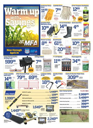 april sales flyer available online mfa incorporated product and