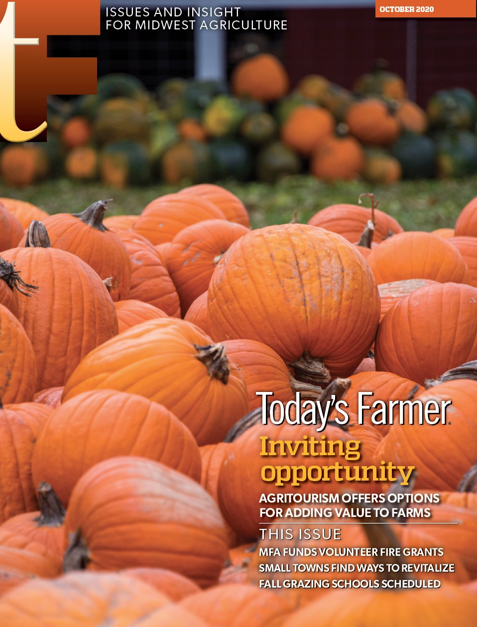 October Today's Farmer magazine is in the mail