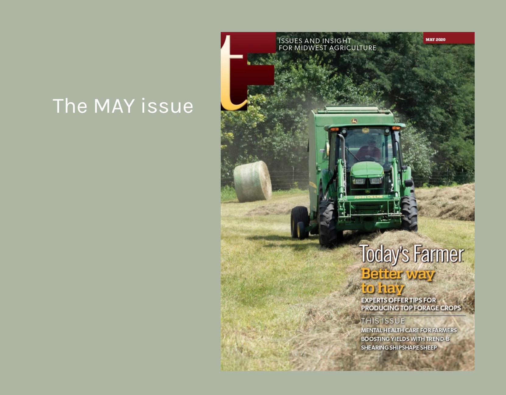 May 2020 Today's Farmer Magazine