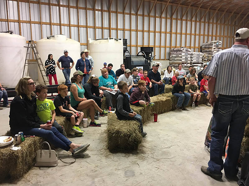 Show fitting clinic gives feeding expertise