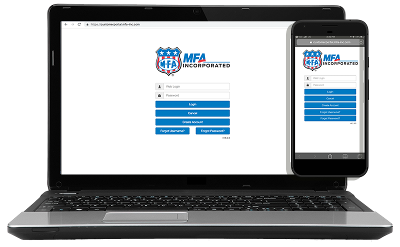 New MFA customer portal allows online pay and management of invoices