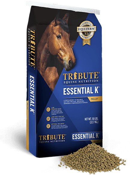 Tribute Essential K pelleted