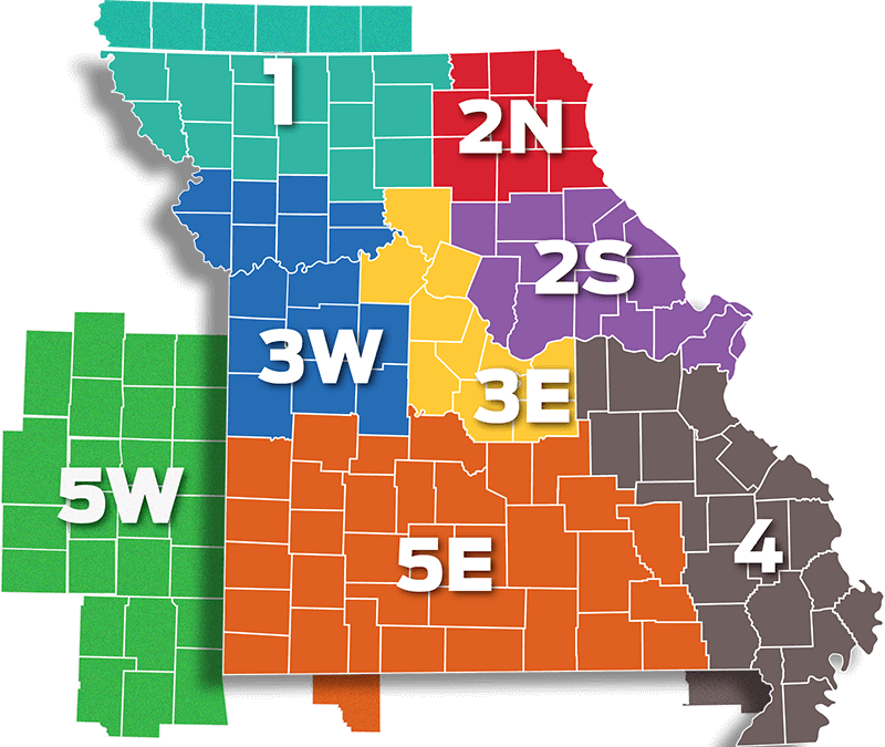PrecisionAg Region Map